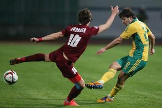 «Кубань» против «Мордовии» — теперь и в чемпионате
