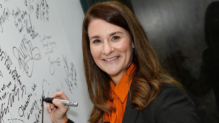 3место. Жена Билла Гейтса предприниматель Мелинда Гейтс