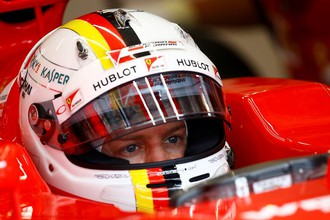 Себастьян Феттель на Гран-при Австрии