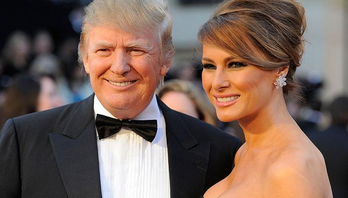 Дональд и Меланья Трамп на 83-й церемонии вручения премии «Оскар» в Лос-Анджелесе, 2011 год