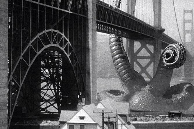 Кадр из фильма «Оно пришло со дна моря» (1955)