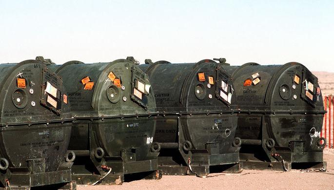 Ракеты «Першинг-2» для уничтожения, январь 1989