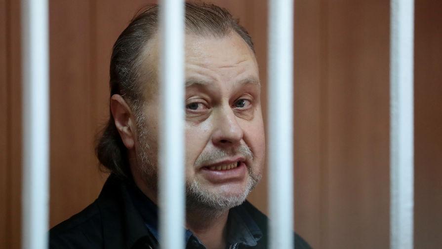 Бывший заместитель директора Федеральной службы исполнения наказаний (ФСИН) Олег Коршунов во время оглашения приговора, 29 июля 2019 года