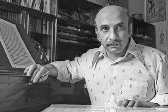 Композитор Гия Канчели в Тбилиси, 1976 год