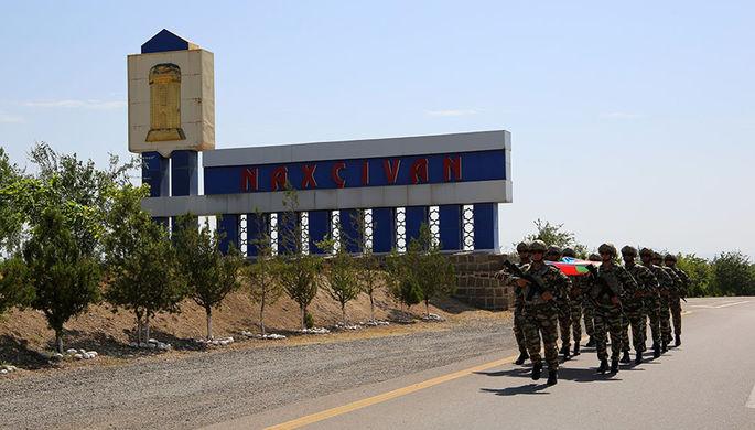 Турецкие военные, прибывшие на учения в Азербайджан, 27 июля 2020 года