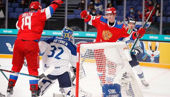 Разгром финнов: молодежка России начала с победы