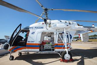 Вертолет Ка-226Т МЧС России