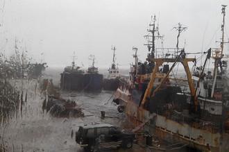 Последствия циклона на Сахалине