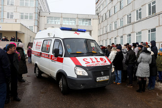 Ситуация у Волоколамской центральной районной больницы, 21 марта 2018 года