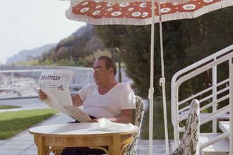 Леонид Ильич Брежнев на отдыхе в Крыму, 1979 год