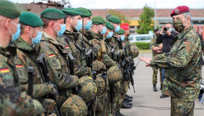 Сторонники Гитлера: в армию ФРГ пробрались экстремисты