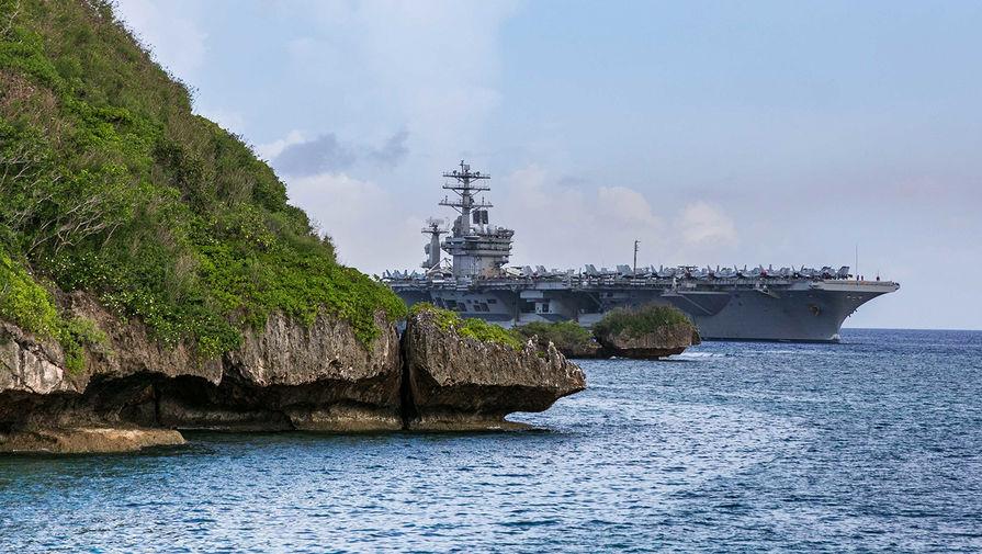 Вслед за КНР: авианосцы США вошли в Южно-Китайское море