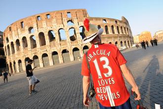 В 2009-м Вечный город пережил нашествие фанатов «МЮ» и «Барселоны». Римлянам понравилось, и теперь они хотят провести главные соревнования человечества