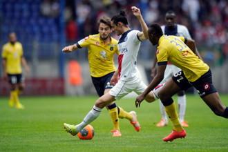 ПСЖ в 35-м туре чемпионата Франции не смог победить на выезде «Сошо»