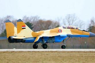Совсем новый: в Египте разбился МиГ-29