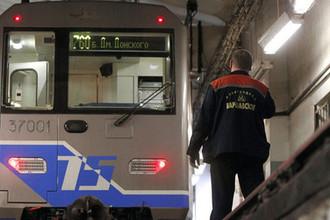 Сбой в московском метро: три состава встали в туннеле