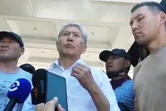 Выступление экс-президента Киргизии Алмазбека Атамбаева. Кадр из видео, опубликованного 8 августа 2019 года
