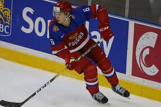 Защитник сборной России Сергей Зборовский.