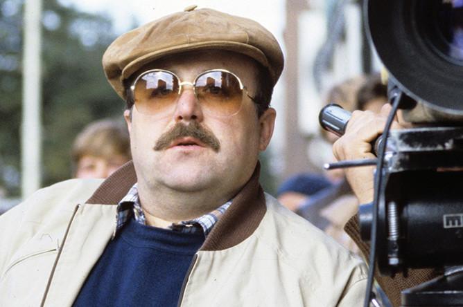 Александр Калягин на съемках фильма «Подружка моя», 1985 год