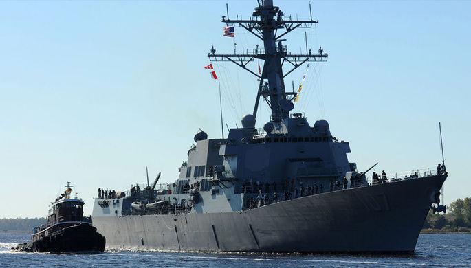 Минобороны: военные следят за эсминцем США в Балтийском море