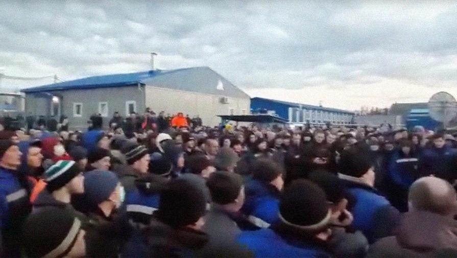 «Газпром» отреагировал на сообщения о бунте рабочих в Якутии