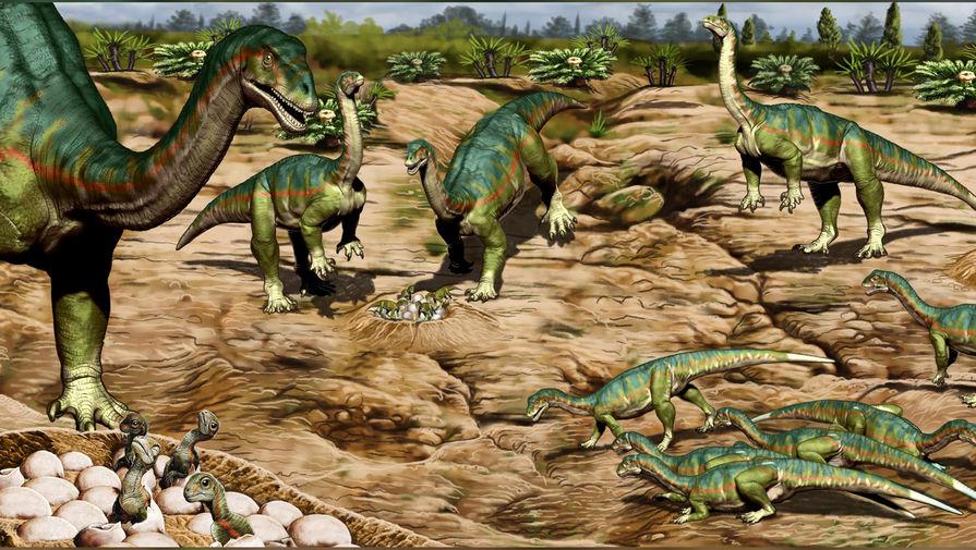 Палеонтологи обнаружили самое древнее стадо динозавров