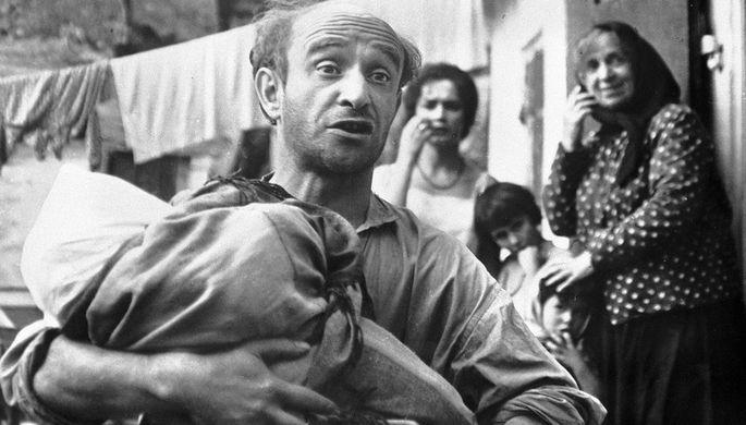 Ролан Быков в фильме «Комиссар» (1967)