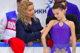 Этери Тутберидзе и Анна Щербакова