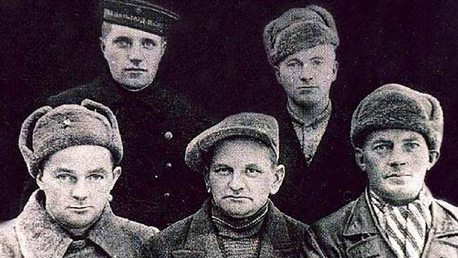 Члены советско-норвежской разведгруппы УНКВД