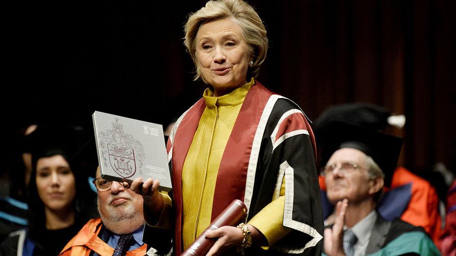Клинтон отказалась баллотироваться в президенты США