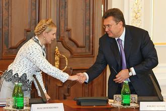 Янукович, а не Тимошенко станет тем, кто привел Украину в Европу