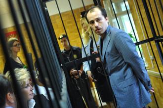 Владелец платежной системы Chronopay Павел Врублевский в зале суда