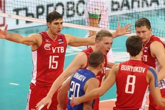 Сборная России по волейболу одолела болгар в Мировой лиге