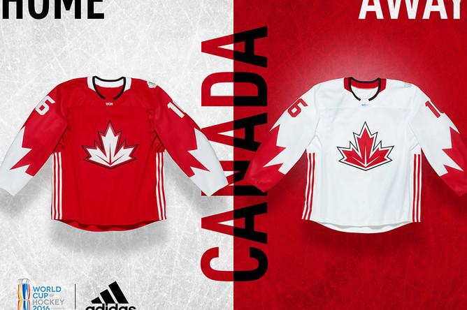 Форма сборной Канады