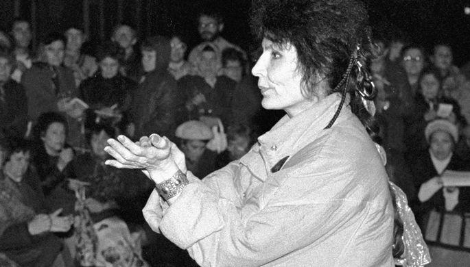 Космонавт Светлана Савицкая на борту орбитальной станции «Салют-7», 1982 год