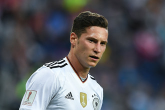 Нападающий сборной Германии Юлиан Дракслер