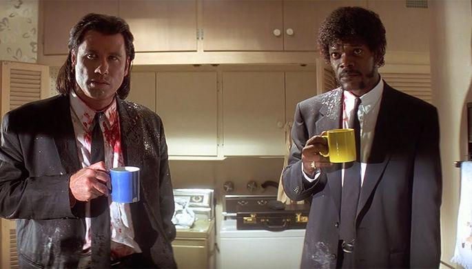 Кадр из фильма «Криминальное чтиво» (1994)