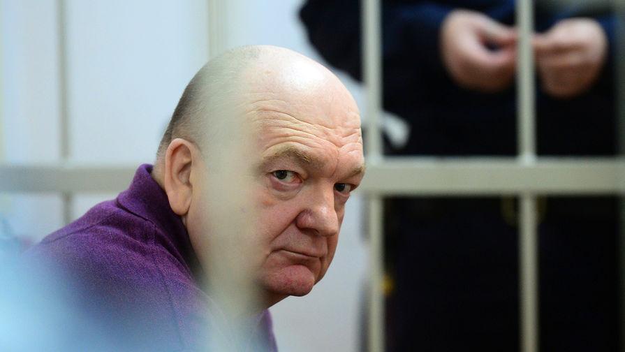 Бывший директор Федеральной службы исполнения наказаний (ФСИН) России Александр Реймер в Замоскворецком суде Москвы, 13 июня 2017 года
