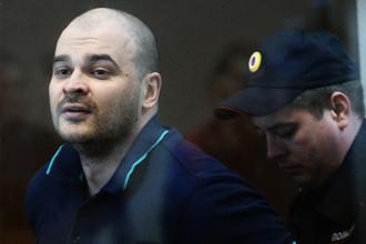 Максим «Тесак» Марцинкевич в Бабушкинском суде Москвы, 20 июня 2017 года