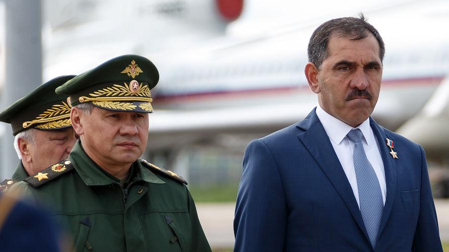 Уйдет в оборону: сначала Евкуров станет заместителем Шойгу