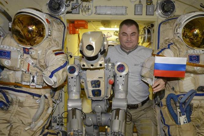 Робот Фёдор на МКС, 30 августа 2019 года