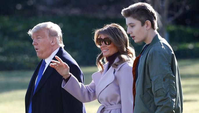 Спасите Бэррона: как в США обижают и защищают сына Трампа