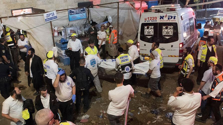 Число погибших при давке на празднике в Израиле возросло до 44