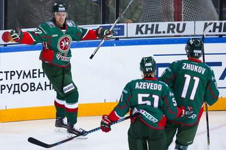 Хоккеисты казанского «Ак Барс»