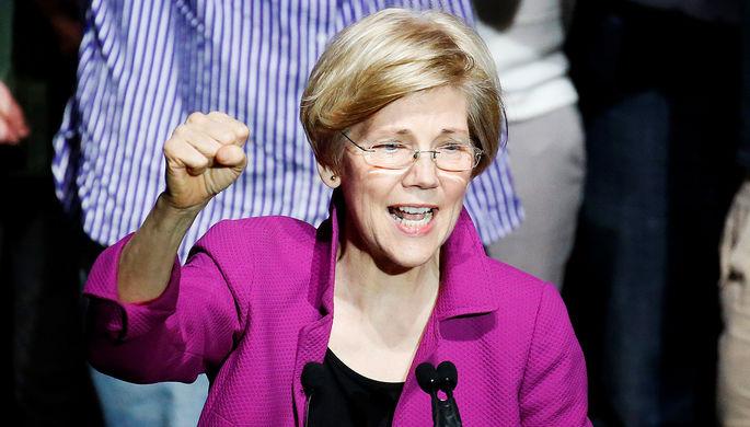 Сенатор от Массачусетса объявила об участии в выборах президента США