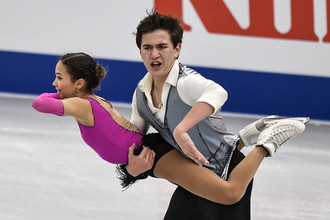 Дарья Павлюченко и Денис Ходыкин стали чемпионами Европы у спортивных пар среди юниоров