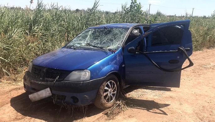 ДТП с восемью погибшими: Renault упал в оросительный канал