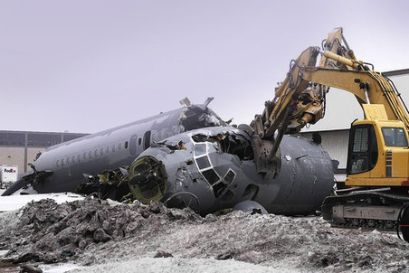 В 2011 году Aircraft Demolition утилизировала 24 самолета