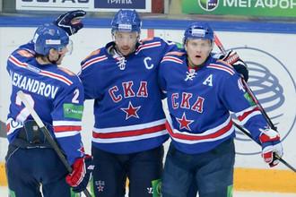 Возвращение Ильи Ковальчука питерцы отметили победой