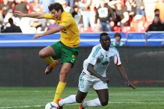 «Терек» и «Кубань» играют в матче 22-го тура чемпионата России по футболу
